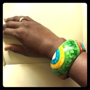 Jewelry - Multi-colored bangle bracelet